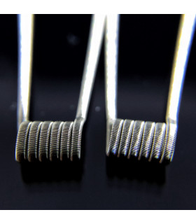 NEGRETE SS316L NI80 0.24/0.12OHM - TOBAL COILS