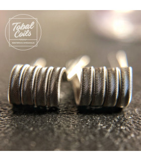 EPIC CHELIOS PREMIUM FULL NI80 0.16/0.08OHM - TOBAL COILS