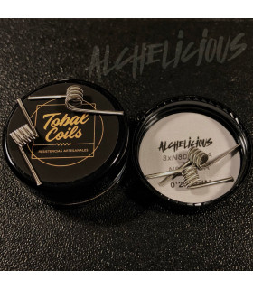ALCHELICIOUS FULL NI80 0.25OHM SINGLE - TOBAL COILS