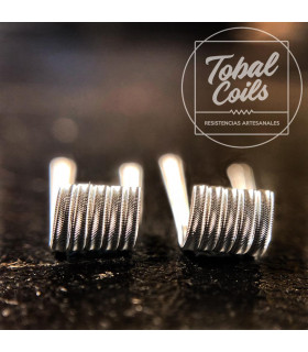 MINI ERIZO FULL NI80 0.42/0.21OHM - TOBAL COILS
