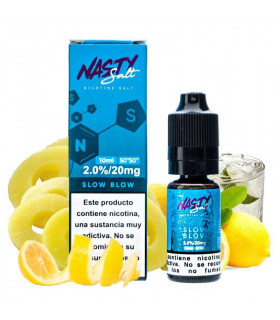SLOW BLOW NIC SALT 20MG 10ML - NASTY