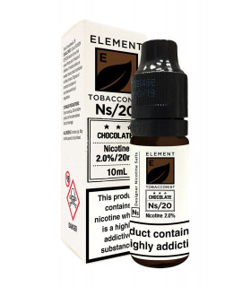 CHOCOLATE TOBACCO 10ML SALES 20MG - ELEMENT E-LIQUID