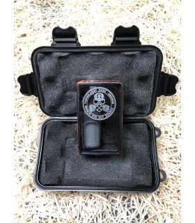 MECH MOD BF SHOOT 18650 BRUSH ORANGE BLACK