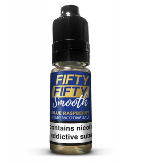 BLUE RASPBERRY 10ML SALES 20MG - FIFTY FIFTY SMOOTH