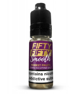 FOREST FRUITS 10ML SALES 20MG - FIFTY FIFTY SMOOTH