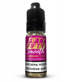 RASPBERRY TART 10ML SALES 20MG - FIFTY FIFTY SMOOTH