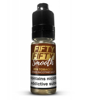 RY4 TOBACCO 10ML SALES 20MG - FIFTY FIFTY SMOOTH