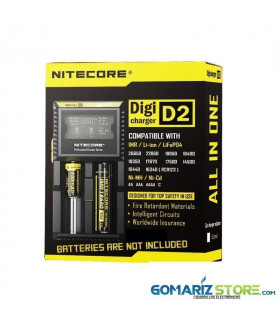 CARGADOR NITECORE DIGICHARGER D2