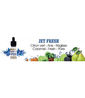 JET FRESH - E LIQUID FRANCE 20 ml
