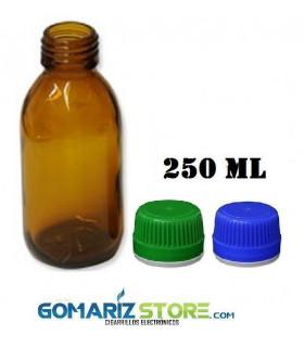 FRASCO 250 ml TOPACIO CON TAPÓN DIN28