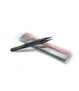 CERAMIC TWEEZERS BLACK - COILMASTER