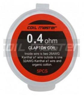 Pre-built K Clapton 0,4ohm - COILMASTER