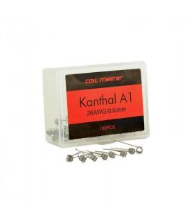 100x PREBUILT A1 Wire (0,4 ohm) - COILMASTER