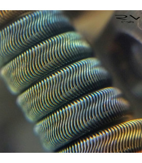 SMALL ALIEN 3x28 y 40g by Rick Vapes Coils