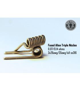 Triple Nucleo SS316 0.14/0.07 (2 piezas) Bacterio Coil