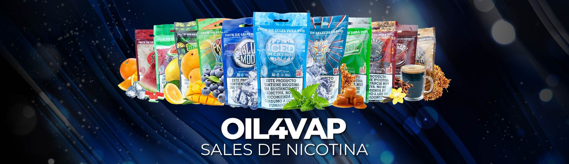 Sales de Nicotina OIL4VAP